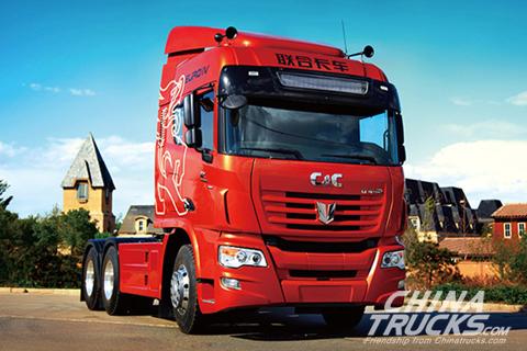 C&C 6x4 500PS Tractor+Yuchai Engine+FAST Transmission