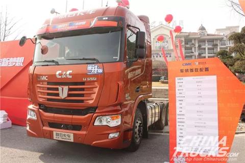 C&C 6x4 500hp Tractor(QCC4252D654-3)