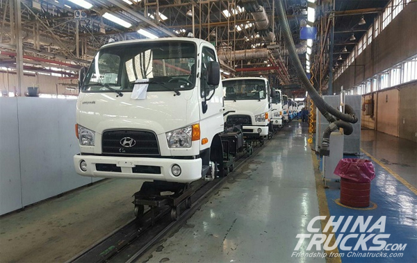 Iran Khodro Diesel Launches Hyundai Trucks' Assembly Line