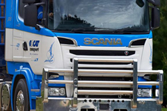 Scania Ends 2017 on a High in Australia