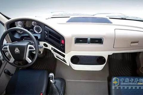 Sinotruk T5G 6×2 Gas-powered Van