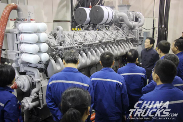 Yuchai YC20VC High-speed Diesel Engine Ignites