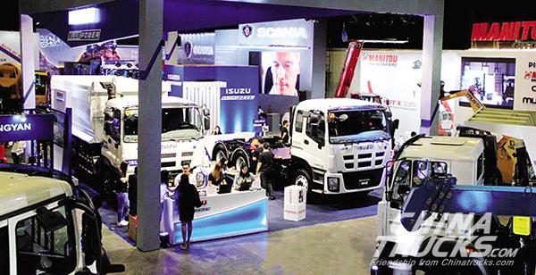 Isuzu Debuts Blue Power Euro V trucks at the 2017 PhilConstruct Manila