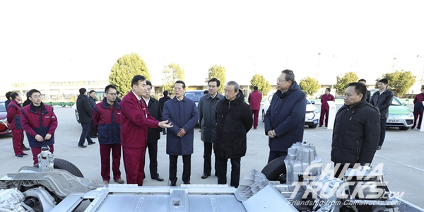 Chinese Vice Premier Zhang Gaoli Inspected JAC Motors