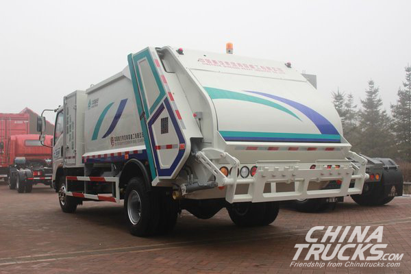 Sinotruk Officially Releases its Hydrogen Powered Light Truck