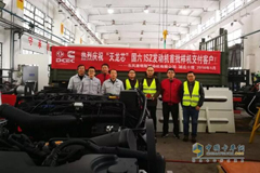 """National VI """"Tianlongxin"""" Engines Delivered to Dongfeng Commercial Vehicle"""