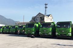 CNHTC Got the Order of 210 Units of Howo Intelligent Dirt Trucks in Fuzhou