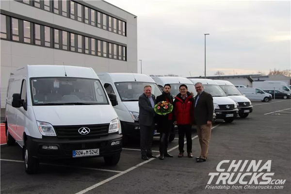 200 Units SAIC Maxus EV80 Arrived in Germany for Operation