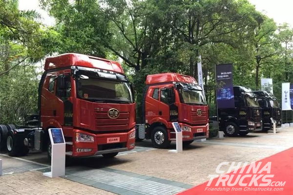 China Jiefang Truck Sets Sales Record in 2017