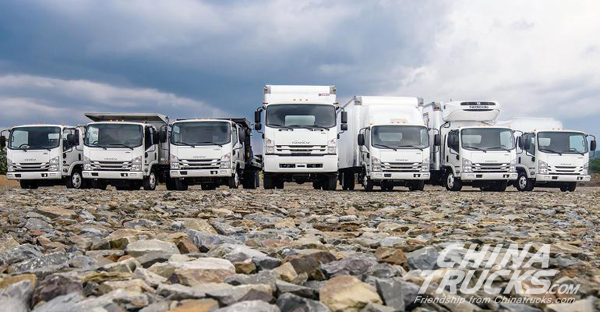 Isuzu Breaks Commercial Truck Sales Records