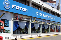 Foton Motor Comes back to Kenya with Four Dealers