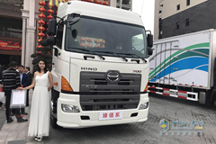 GAC Hino Zhenzhi Makes its Debut to the Market