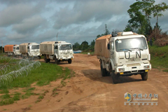 Beiben UN Trucks to End Peacekeeping Mission in Liberia