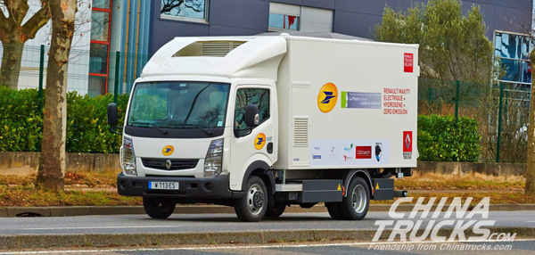 Renault Electric Trucks to Go on Sale Next Year