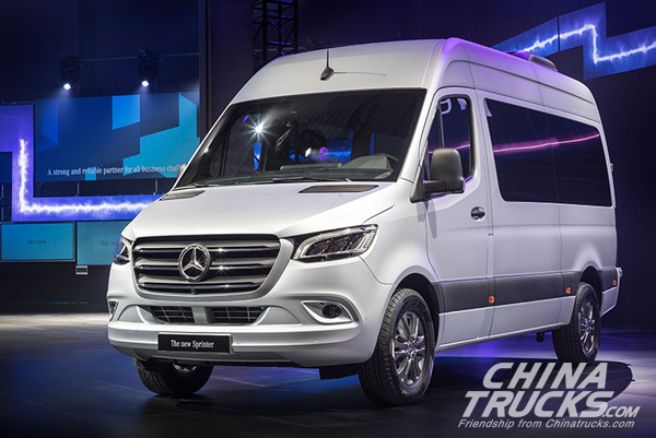 Mercedes Introduces 2019 Sprinter Commercial Van in Germany