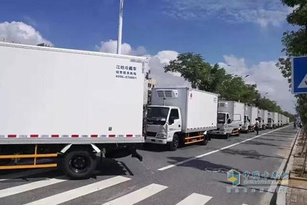 JMC Secures an Order of 1,000 Units Intelligent Refrigerator Trucks