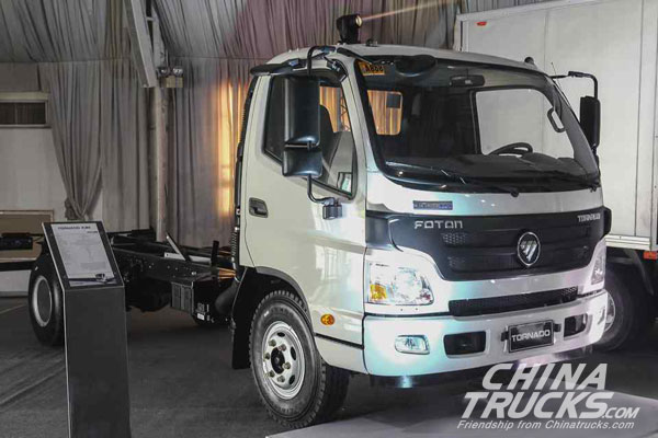 Foton Philippines Launches 2018 Tornado M4.2C Truck with Euro4 Engine