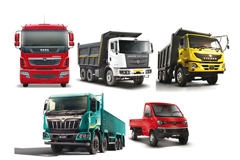 India Commercial Vehicle OEMs See Robust Growth in February