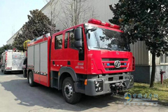 Hongyan Firefighting Vehicles Delivered to Their Customers for Operation