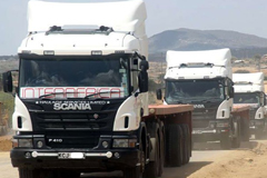 Chinese Branded Trucks are Favored by Kenyan Haulage Firms