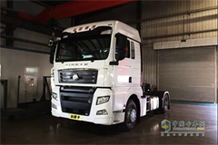 40 Units SITRAK C7H 4X2 Intelligent Trucks Ordered by BEST Express Roll Off