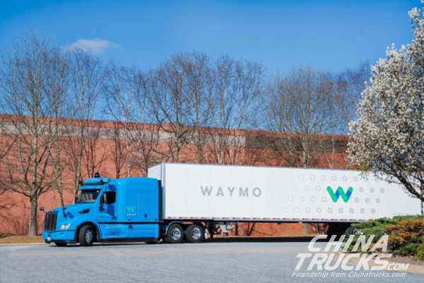 Waymo Launching Self-Driving Semi Truck Pilot Program In Atlanta