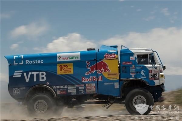 Dongfeng Cummins ISZ Engine Took Part in 2018 Dakar Rally
