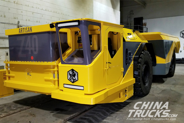 World First All Battery Ed Underground Haul Truck Unveiled