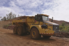 XCMG XDA40 articulated dump truck