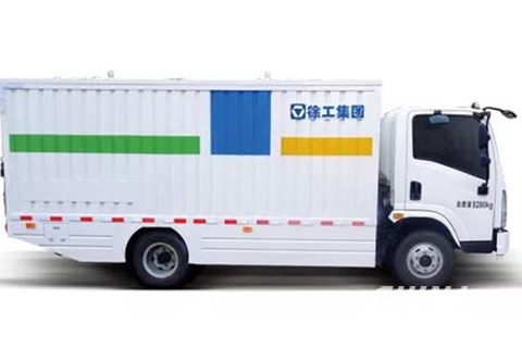 XCMG Pure Electric Barreled Garbage Truck