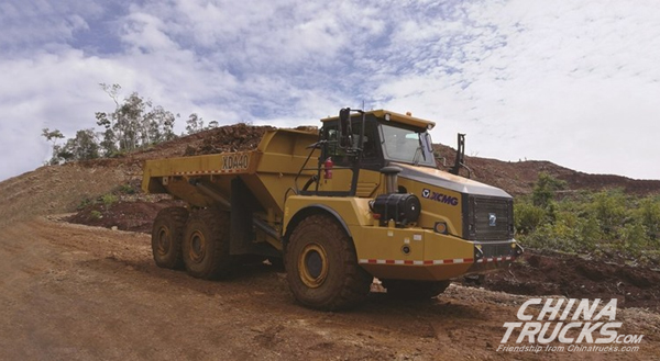 XCMG Delivers Order of 70 Articulated Dumpers to Central Asia and South Africa