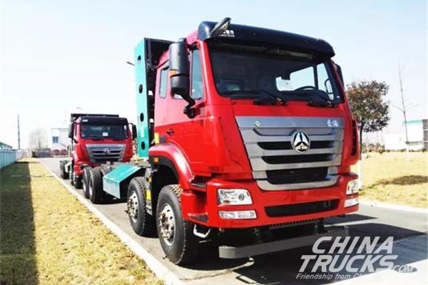 Sinotruk  Haohan J7G 8×4 Dumping Truck