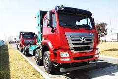 Sinotruk  Haohan J7G 8×4 Dumping Truck+MAN Power