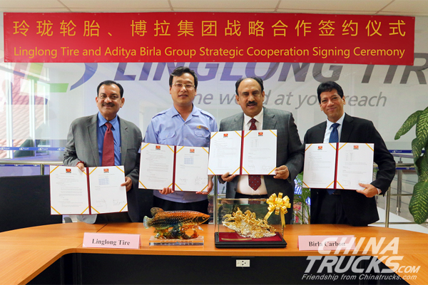 Linglong Signed Strategic Cooperation Agreement with Aditya Birla Group