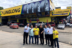 Five Linglong Brand Stores Opened in Brazil