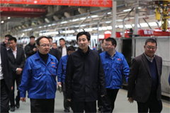 Chairman of Yuchai Visited Its Strategic Partners
