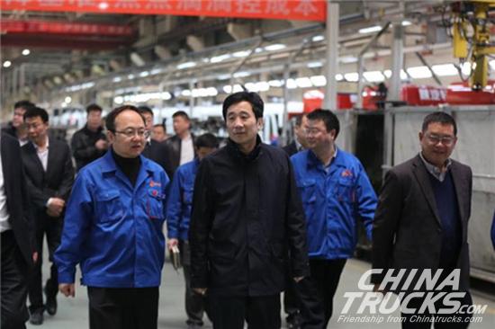 Yan Ping, Chairman of Yuchai Visited Strategic Partners of Yuchai Group