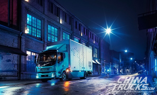 Volvo FL All-Electric Truck Range Enters Operation in Europe