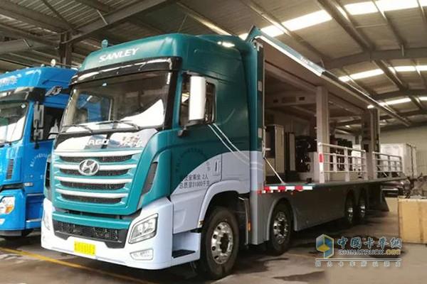 Sichuan Hyundai TRAGO Trucks Enjoy Rising Popularity in Qingdao