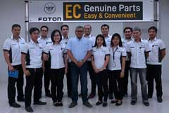 Foton Philippines Makes Getting Parts Easier for Customers