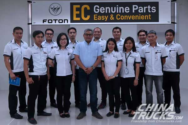 Foton EC Genuine Parts Progam Makes Finding Parts Easier in Philippine
