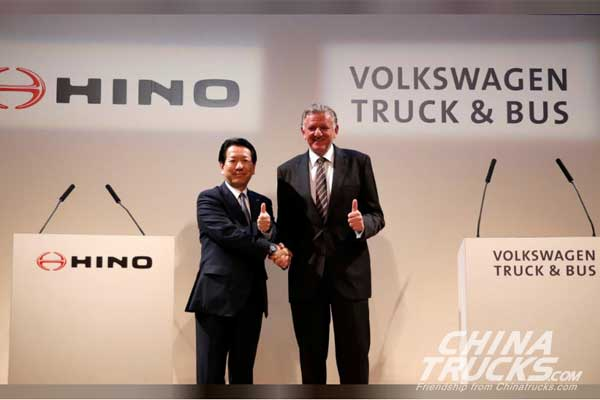 VW Truck & Bus Partners with Hino Motors
