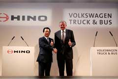 VW Truck & Bus Enters Cooperation with Hino Motors