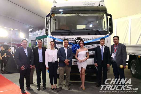 Foton Philippines Introduces Blue Energized EST Tractor Head