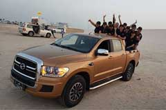 ZXAUTO TerraLord Pickup Officially Enters Gulf Region
