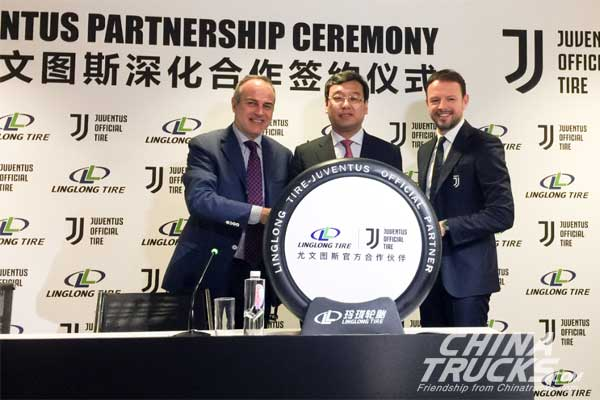 Linglong Tire Signed Partnership Agreement with Juventus in Italy