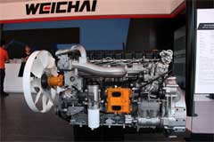 Weichai WP10H Diesel Engine