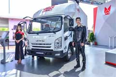 JMC Unveils a Light-duty Truck and an Electric Truck at Auto China 2018