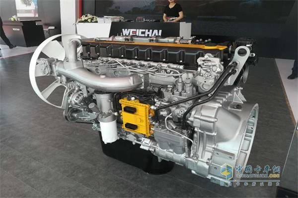 Weichai Environmentally Friendly Power Solutions Shine at Auto China 2018