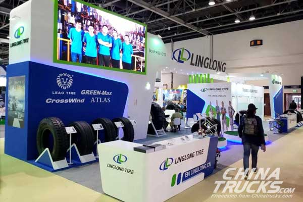 Linglong Unveils Latest Green-Max tyres at Automechanika Dubai 2018